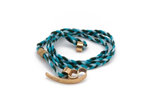 Wrap Braids - Sky Blue to Green